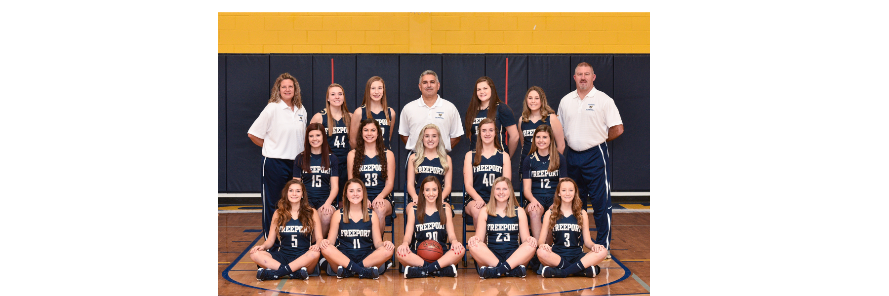 Girls Basketball Team 2018-2019