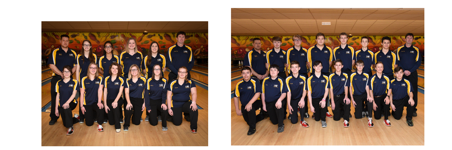 Bowling Teams - Girls and Boys